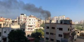 طائرات الاحتلال تواصل قصف أنحاء متفرقة من قطاع غزة