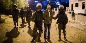 اعتقال سبعة مواطنين من الضفة بينهم نجل الأسير أحمد المغربي
