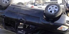 وفاة شابين بحادث سير ذاتي