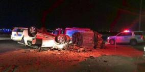 وفاة مواطن وزوجته ونجله من جنين جراء حادث سير في الأردن