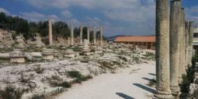 الاحتلال يقتحم الموقع الأثري في سبسطية