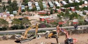 إسرائيل تخطط لبناء 1406 وحدات استيطانية شمالي الضفة