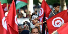 مدارس تونس تنظم وقفة تضامنية مع الشعب الفلسطيني
