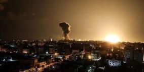 الاحتلال يشن سلسلة غارات على مواقع للمقاومة في غزة
