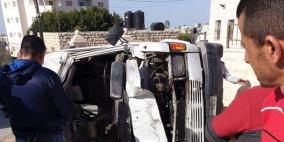 وفاة مواطنة وإصابة 3 آخرين في حادث سير بالخليل