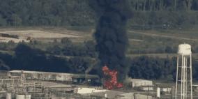 انفجار في مصنع للمواد البتروكيميائية بولاية تكساس الأميركية