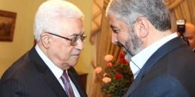 الرئيس يهاتف خالد مشعل مطمئنا على صحته