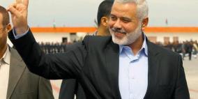 هنية يغادر غزة الى مصر غدا ويستعد لجولة خارجية