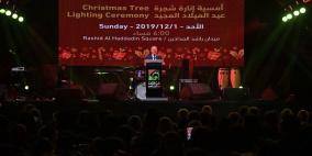 اشتية: عيد الميلاد عيد وطني لشعبنا بكل مكوناته