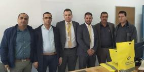 الإسلامي الفلسطيني يدعم مدرسة ذكور خروبة في جنين
