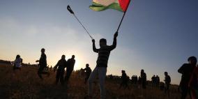(محدث 1).. الجمعة 83: اصابة 37 متظاهر بنيران الاحتلال