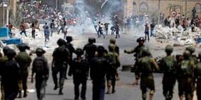إصابات بالاختناق خلال مواجهات مع الاحتلال بمدينة الخليل