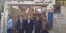 مكرمة رئاسية لمستشفى يافا بدمشق