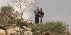 مستوطنون يطلقون النار صوب منزل في قرية جيت