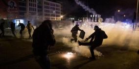 66 اصابة... ليلة غضب واشتباكات وسط بيروت