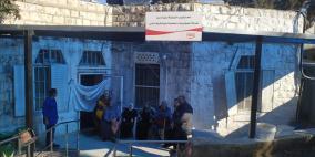 المشروبات الوطنية تتبرع بمظلة لبيت المسنين التابع للهلال الأحمر في نابلس