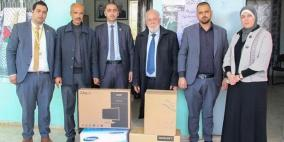 الإسلامي الفلسطيني يدعم مدرستين في محافظة قلقيلية