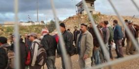 جيش الاحتلال يؤيد  إدخال آلاف العمال من غزة