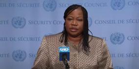 بنسودا تعرب عن قلقها إزاء العنف في الأراضي الفلسطينية