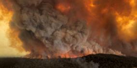 إجلاء عشرات الآلاف جنوب شرق استراليا بسبب الحرائق