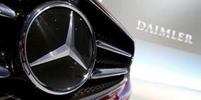 دايملر تستدعي 744 ألف سيارة مرسيدس بنز في أمريكا بسبب عيب في السقف المتحرك
