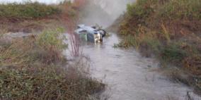 العثور على جثة علي إغبارية بسيارة جرفتها السيول