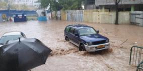 سيول وفيضانات في حيفا