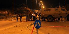 احتجاز مئات المركبات شمال غرب القدس