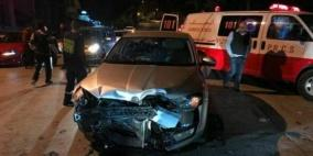 إصابة 179 شخص في 200 حادث سير الأسبوع الماضي