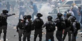 إصابات بالرصاص والاختناق جراء قمع الاحتلال مسيرة كفر قدوم الأسبوعية