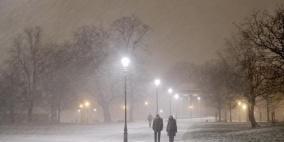 آخر تحديث لاحتمالات تساقط الثلوج اليوم