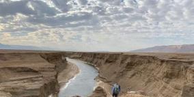 الاحتلال يغلق منطقة النهر السري قرب البحر الميت