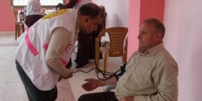 العيادة المتنقلة تصل الى محافظة الخليل
