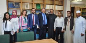 رئيس جامعة القدس يلتقي فعاليات أكاديمية ومجتمعية ورسمية بجنوب إفريقيا