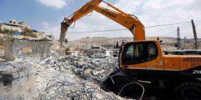 الاحتلال يهدم أساسات منزل لشخص من ذوي الإعاقة في القدس