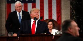 بيلوسي تمزق نسخة من خطاب ترامب حول حال الاتحاد