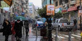 الطقس: أمطار غزيرة اليوم وغدا وأجواء شديد البرودة حتى الثلاثاء