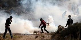 إصابات بالاختناق جراء قمع الاحتلال مسيرة بلعين