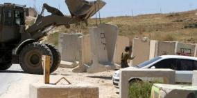 دير نظام مغلقة منذ أسبوعين...من يحمي القرى الفلسطينية؟