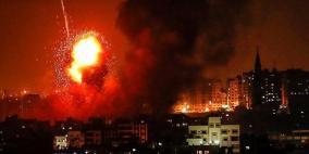 بعد اعلان السرايا  انتهاء ردها.. الاحتلال يعاود قصف غزة