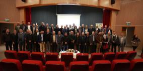 """""""القدس المفتوحة"""" تعقد الاجتماع نصف السنوي الثالث للهيئة العامة للجنة مبنى فرع نابلس"""