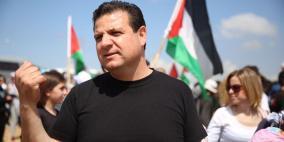 فيديو.. عودة يحذر من صفقة القرن ويدعو للتظاهر في تل أبيب