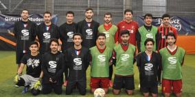 14 فريقاً من جامعات بريطانيا يشاركون في بطولة كرة القدم للطلاب القطريين