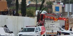 مصرع رضيعة بعد نشوب حريق في مدينة رهط بالنقب