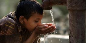 معدل استهلاك الفرد الفلسطيني من المياه 87 لترا في اليوم