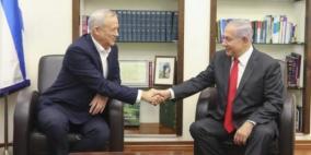 تعرقل المفاوضات بين نتنياهو وغانتس إثر خلافات على الحقائب والضم