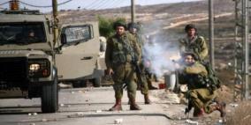 جيش الاحتلال ومستوطنوه يهاجمون بلدة قصرة جنوب نابلس