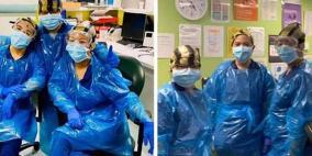 قصة ممرضات ارتدين أكياس قمامة فأصبن بكورونا