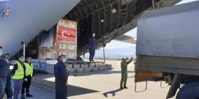 تركيا ترسل معدات طبية لاسرائيل