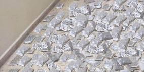 الضابطة الجمركية تضبط كمية كبيرة من المعسل المهرب في سلفيت